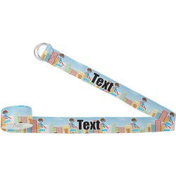 Superhero in the City Yoga Strap (Personalized)