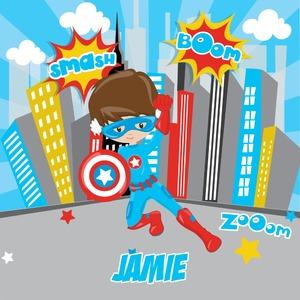 Superhero in the City