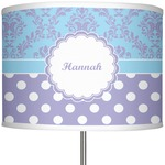 Purple Damask & Dots 13