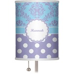 Purple Damask & Dots 7