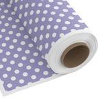 Purple Damask & Dots Custom Fabric by the Yard (Personalized)