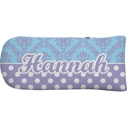 Purple Damask & Dots Putter Cover (Personalized)