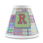 Blue Madras Plaid Print Chandelier Lamp Shade (Personalized)