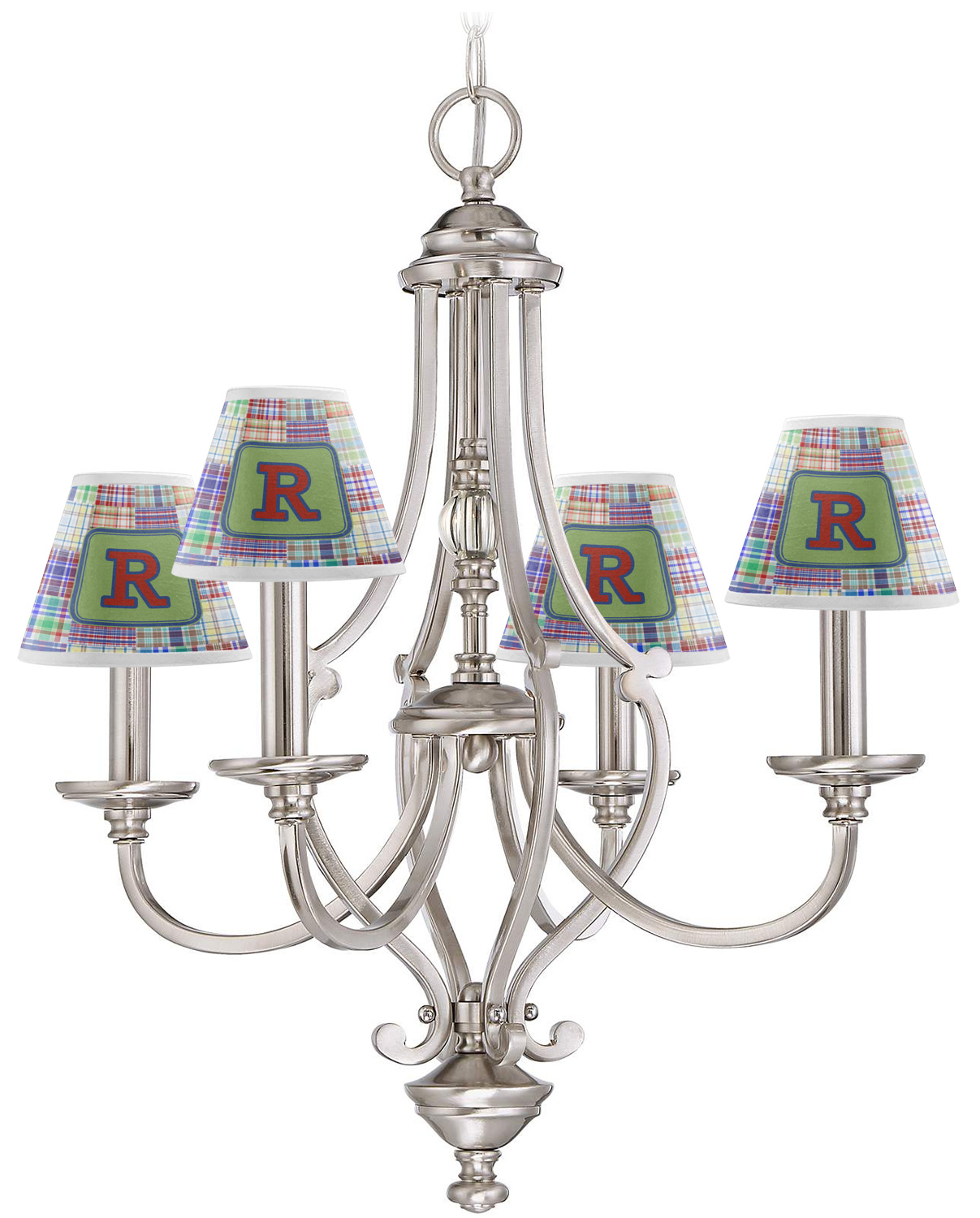 Appealing Checkered Chandelier Lamp Shades Gallery - Chandelier ...