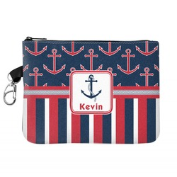 Nautical Anchors & Stripes Golf Accessories Bag (Personalized)