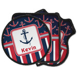 Nautical Anchors & Stripes Iron on Patches (Personalized)