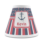 Nautical Anchors & Stripes Chandelier Lamp Shade (Personalized)