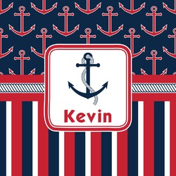 Nautical Anchors & Stripes