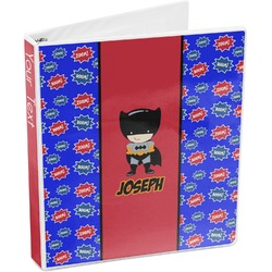 Superhero 3-Ring Binder (Personalized)