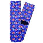 Superhero Adult Crew Socks (Personalized)