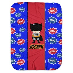Superhero Baby Swaddling Blanket (Personalized)