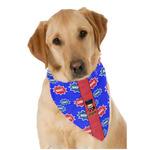 Superhero Dog Bandana Scarf w/ Name or Text