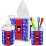 Superhero Bathroom Accessories Set (Personalized)
