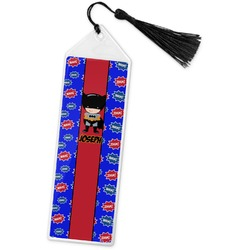 Superhero Book Mark w/Tassel (Personalized)