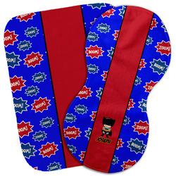 Superhero Burp Cloth (Personalized)