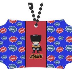 Superhero Rear View Mirror Ornament (Personalized)