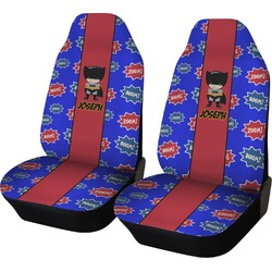 Superhero Car Seat Covers (Set of Two) (Personalized)