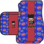 Superhero Car Floor Mats (Personalized)