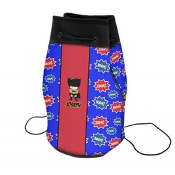 Superhero Neoprene Drawstring Backpack (Personalized)