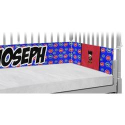 Superhero Crib Bumper Pads (Personalized)