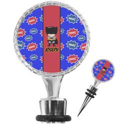 Superhero Wine Bottle Stopper (Personalized)