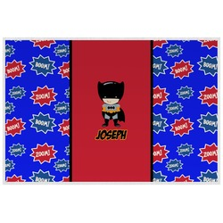 Superhero Placemat (Laminated) (Personalized)