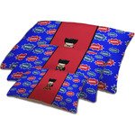 Superhero Dog Bed w/ Name or Text