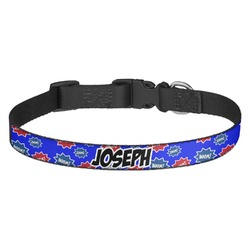 Superhero Dog Collar - Multiple Sizes (Personalized)