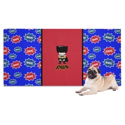 Superhero Dog Towel (Personalized)