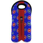 Superhero Wine Tote Bag (2 Bottles) (Personalized)