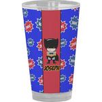 Superhero Drinking / Pint Glass (Personalized)