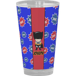 Superhero Drinking / Pint Glass (Personalized)