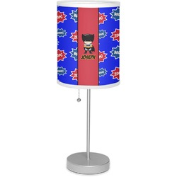 "Superhero 7"" Drum Lamp with Shade (Personalized)"