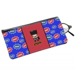 Superhero Genuine Leather Eyeglass Case (Personalized)