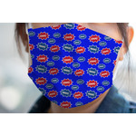 Superhero Face Mask Cover (Personalized)