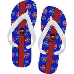 Superhero Flip Flops - XSmall (Personalized)