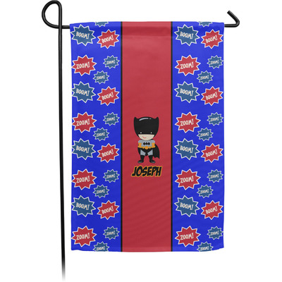 Superhero Garden Flag - Single or Double Sided (Personalized)