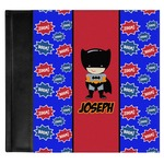 Superhero Genuine Leather Baby Memory Book (Personalized)