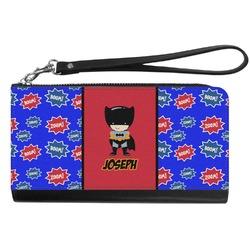 Superhero Genuine Leather Smartphone Wrist Wallet (Personalized)