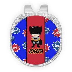 Superhero Golf Ball Marker - Hat Clip