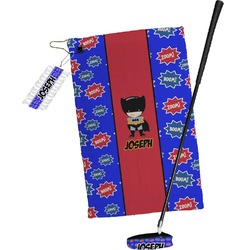 Superhero Golf Towel Gift Set (Personalized)