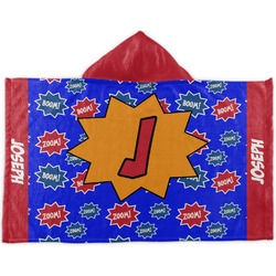 Superhero Kids Hooded Towel (Personalized)