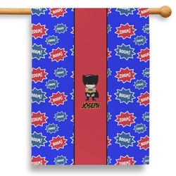 """Superhero 28"""" House Flag (Personalized)"""