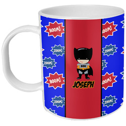 Superhero Plastic Kids Mug (Personalized)