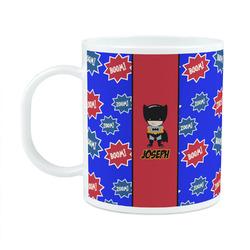 Superhero Plastic Kids Mug (Personalized)