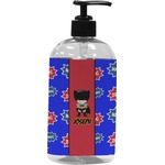 Superhero Plastic Soap / Lotion Dispenser (Personalized)
