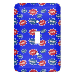 Superhero Light Switch Covers - Multiple Toggle Options Available (Personalized)