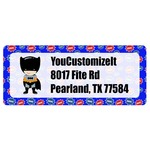Superhero Return Address Labels (Personalized)