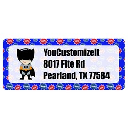 Superhero Return Address Labels (Personalized)