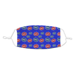 Superhero Kid's Cloth Face Mask (Personalized)